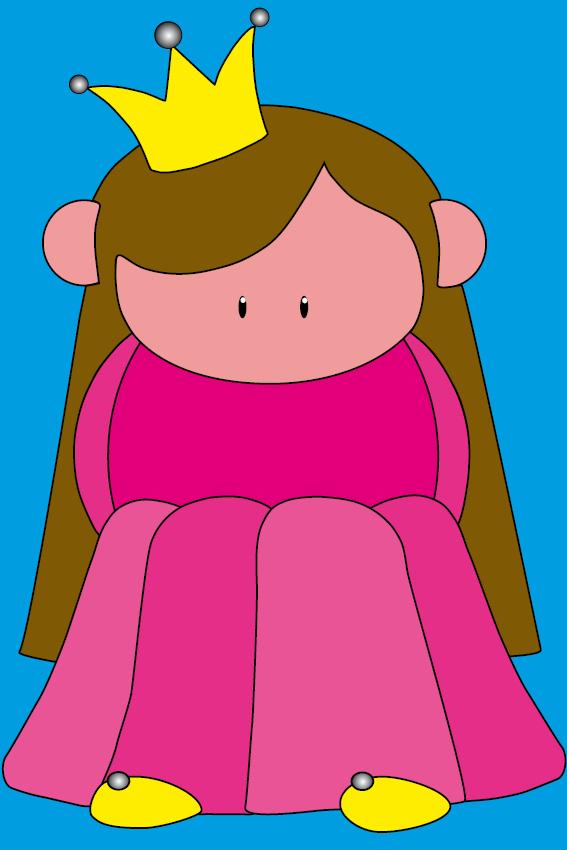 Prinsesje Ariane blauw