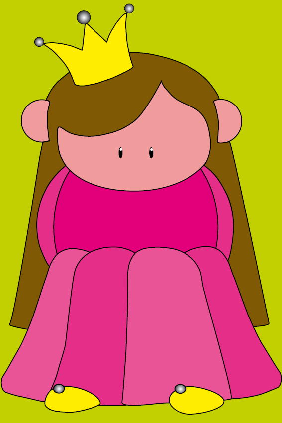 Prinsesje Ariane groen
