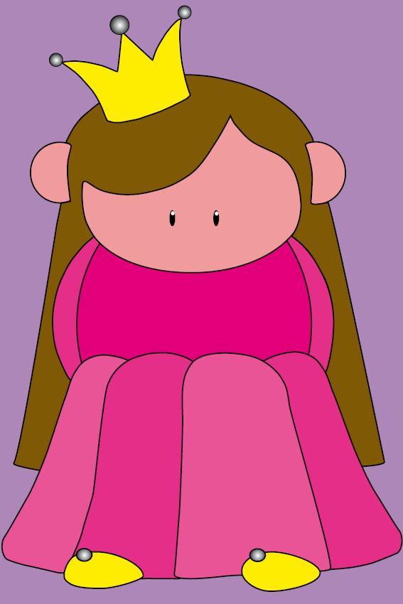 Prinsesje Ariane paars