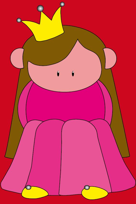 Prinsesje Ariane rood