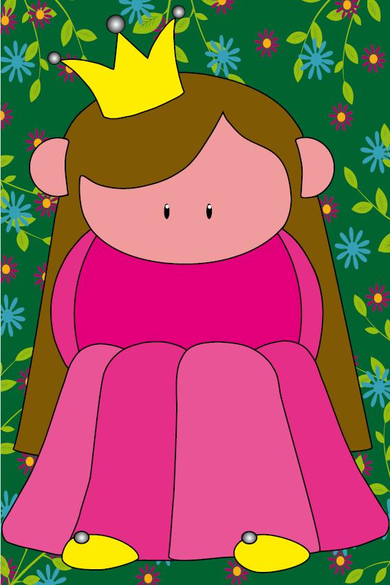 Prinsesje Ariane bloemen