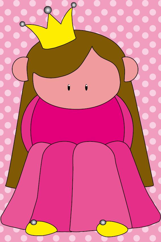 Prinsesje Ariane stip roze