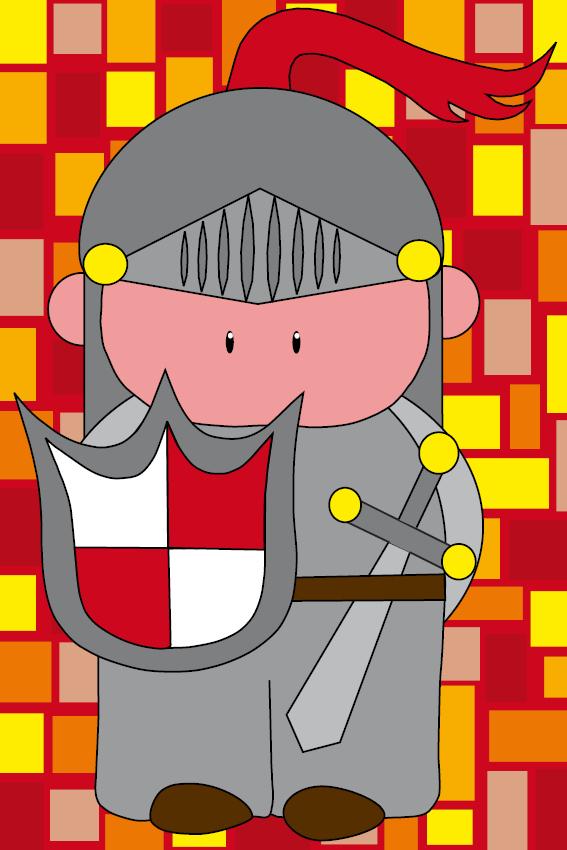 Ridder Koen rode blokken