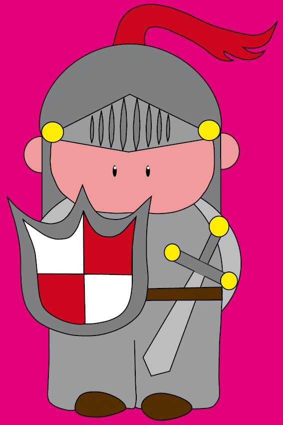 Ridder Koen roze