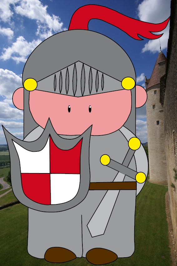 Ridder Koen foto kasteel2