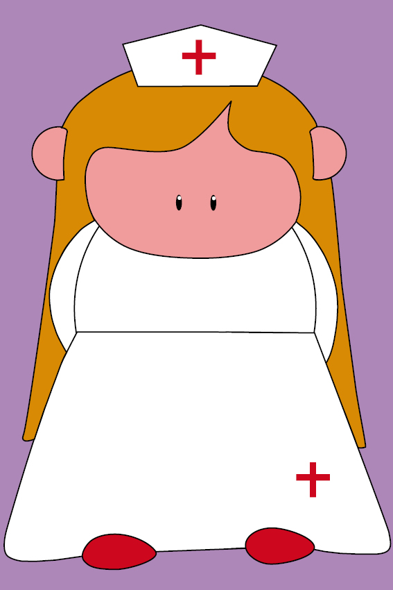 Zustertje Bep paars
