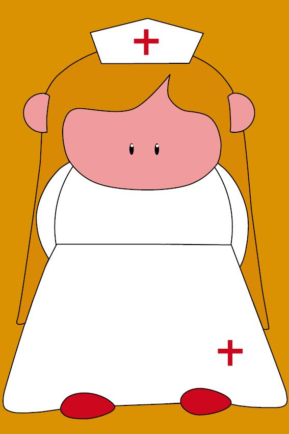Zustertje Bep oranje