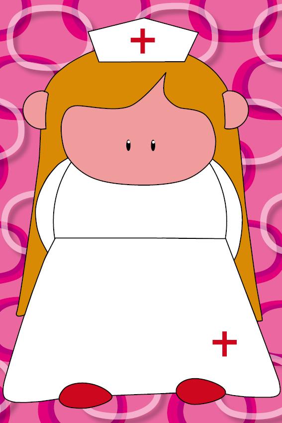 Zustertje Bep roze ringen