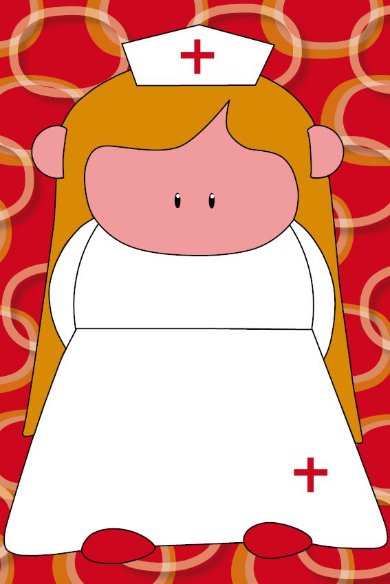 Zustertje Bep rode ringen
