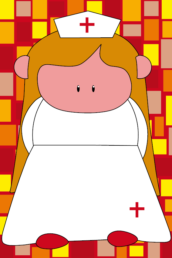 Zustertje Bep rode blokken